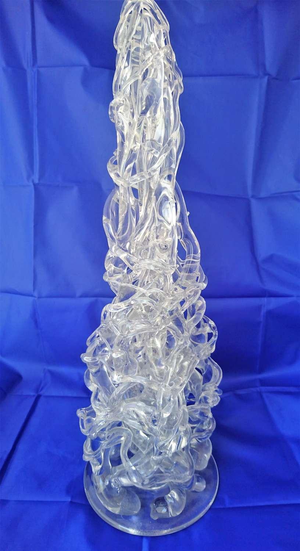 Large Venetian glass sculpture, contemporary