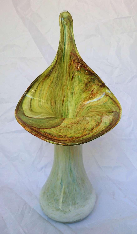 Vintage Jack in the pulpit glass vase