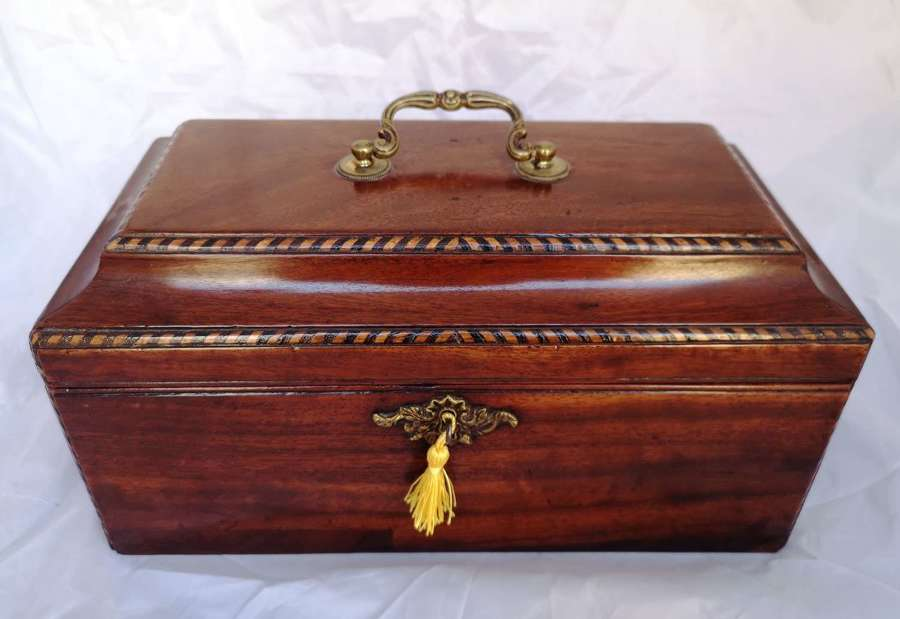 Antique 19th century mahogany box
