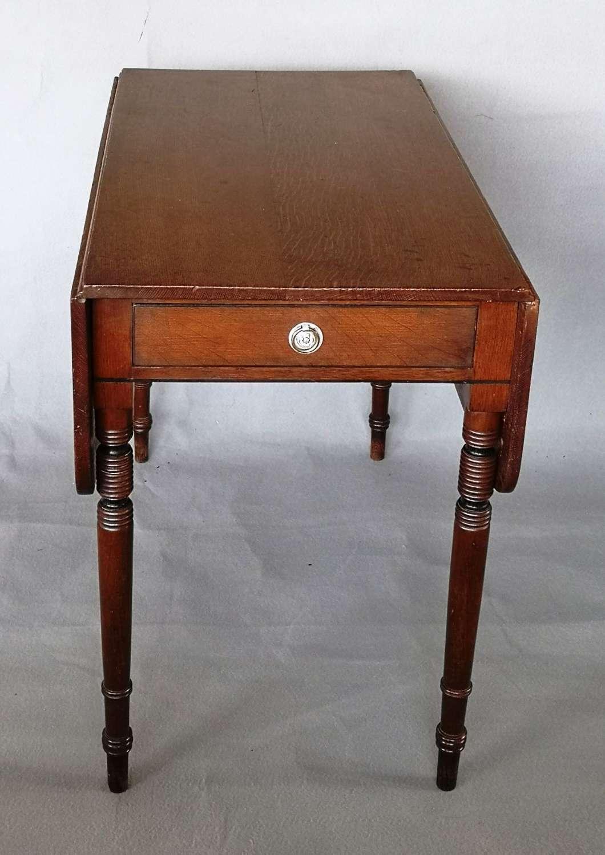 19th century oak Pembroke table