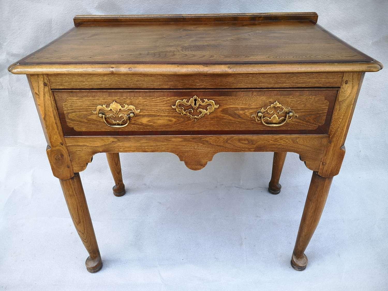 Oak side table, circa 1950